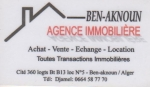 Agence immobiliere agence ben aknoun