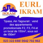 Promotion immobiliere EURL IKRAM PROMOTION IMMOBILIERE