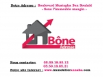 Agence immobiliere Bône adresse