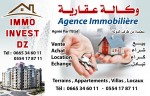 Agence immobiliere IMMOINVESTDZ