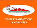 Agence immobiliere agenceLIM