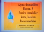 Agence immobiliere Agence Hassan. A