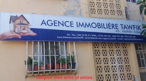 Agence immobiliere tawfik