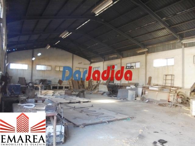 Location Hangar  Zone D'activité Ihéddadéne Béjaïa Bejaia