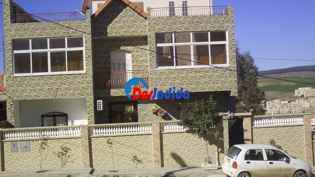 Vente Villa F9 Lotissement 04 Oued Zenati Guelma