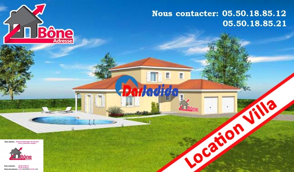 Location Villa F8 Annaba