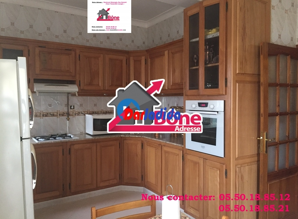 Location Appartement F4 Oued Kouba près Geni Sider Annaba Annaba