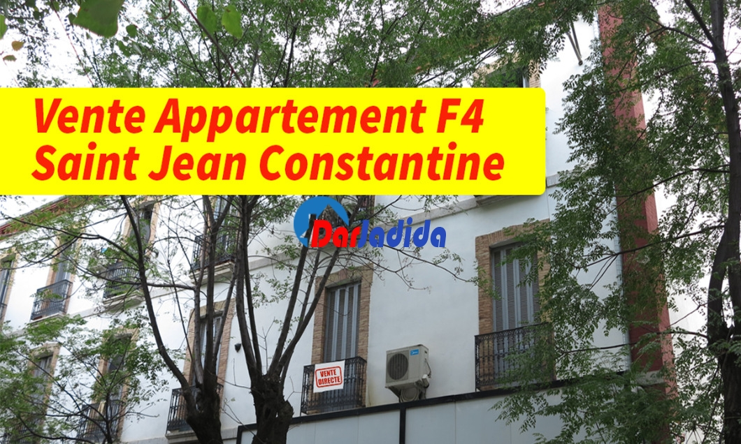 Vente Appartement F4 Saint Jean Constantine Constantine