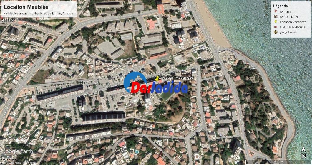 Location vacances Appartement F3 Annaba
