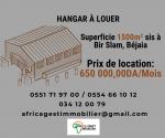 Location Hangar  Bejaia