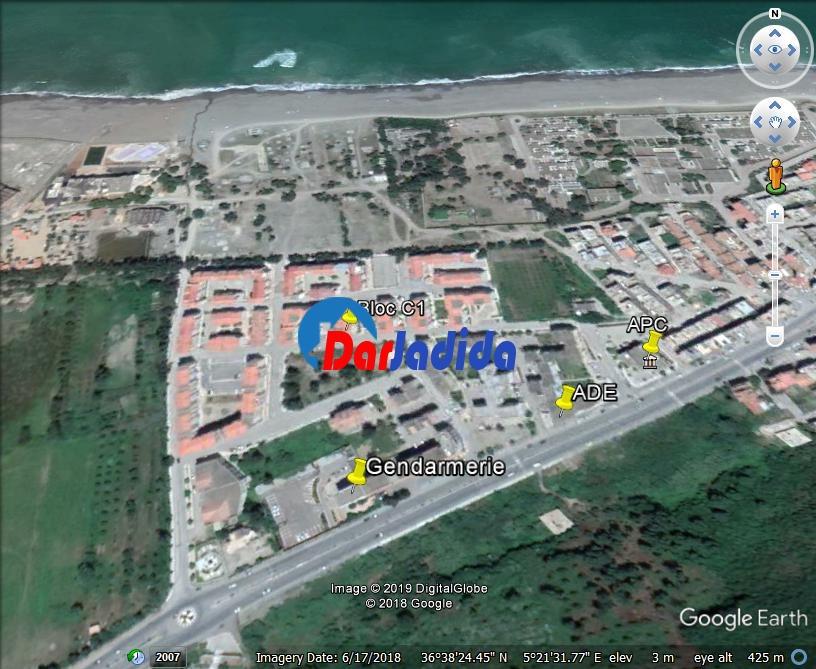 Location vacances Appartement F3 Bejaia