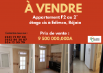 Vente Appartement F2 Bejaia