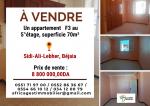 Vente Appartement F3 Bejaia