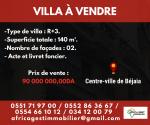 Vente Villa  Bejaia