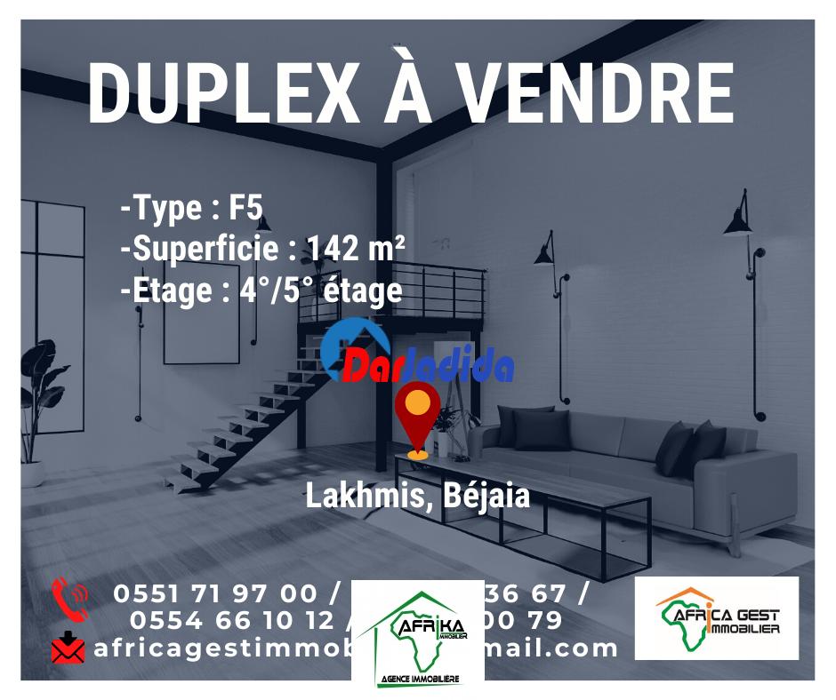 Vente Appartement F5 Lakhmis Béjaïa Bejaia