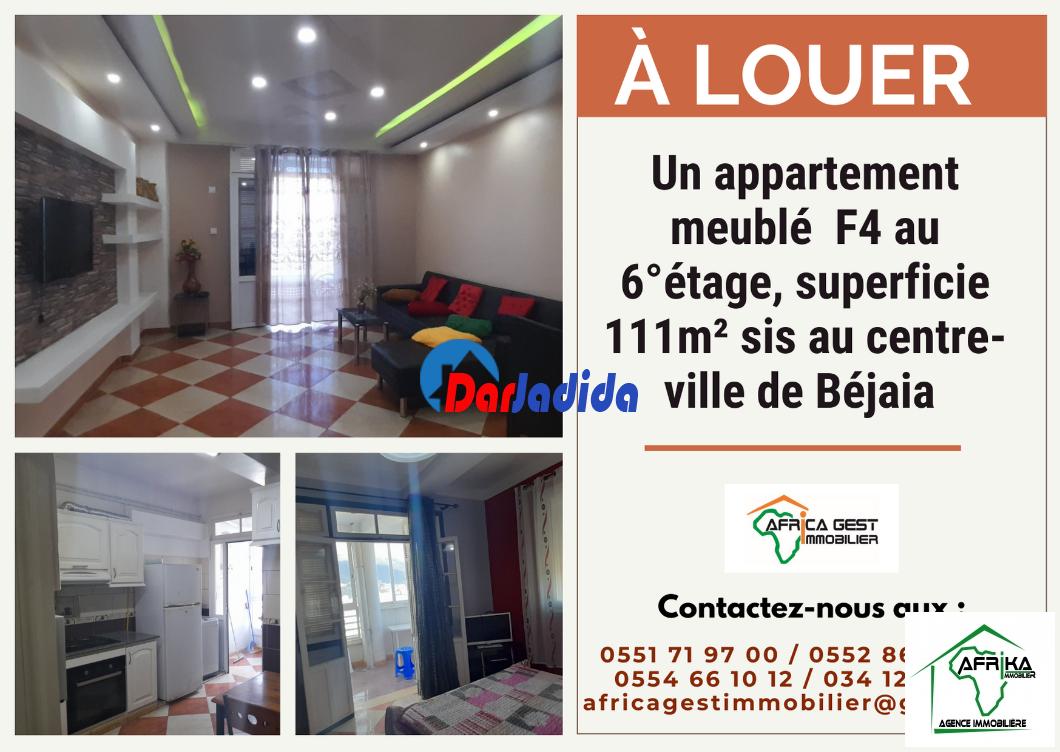 Location Appartement F4 Béjaia Béjaïa Bejaia