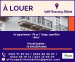 Location Appartement F6 Bejaia