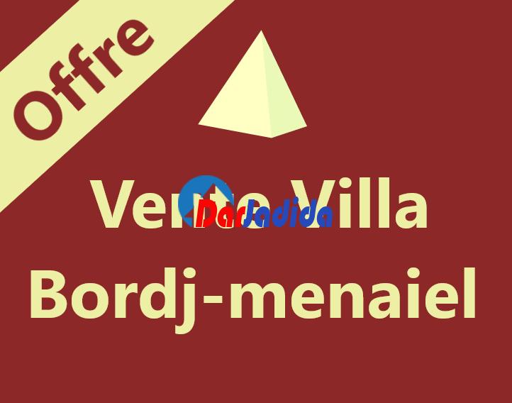 Vente Villa  Boumerdes