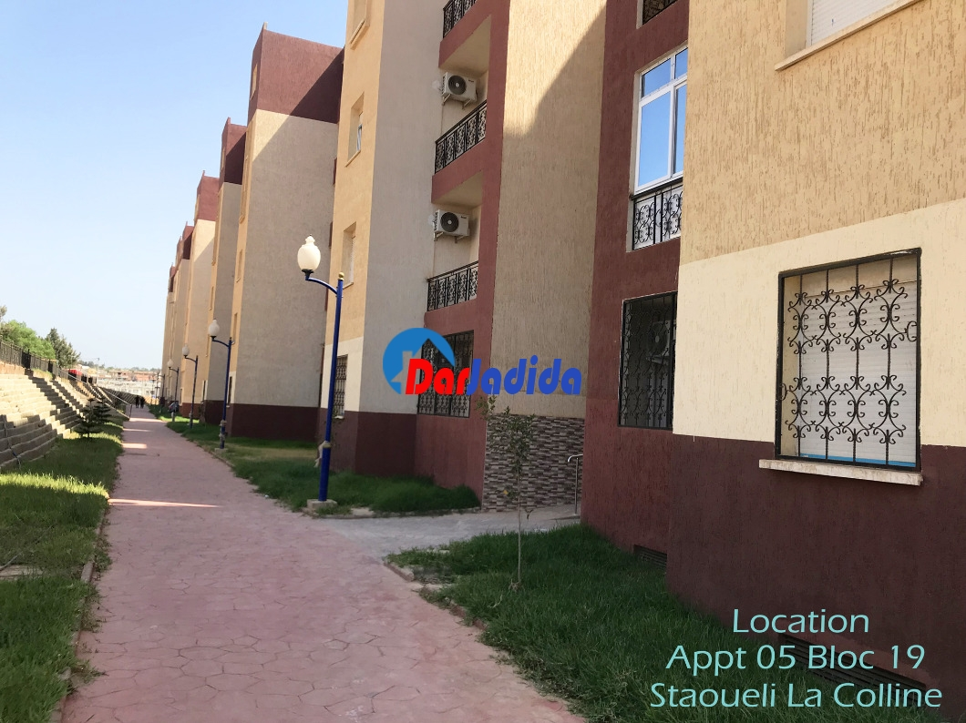 Location Appartement F4 Cité LPP la Colline Staoueli Staoueli Alger