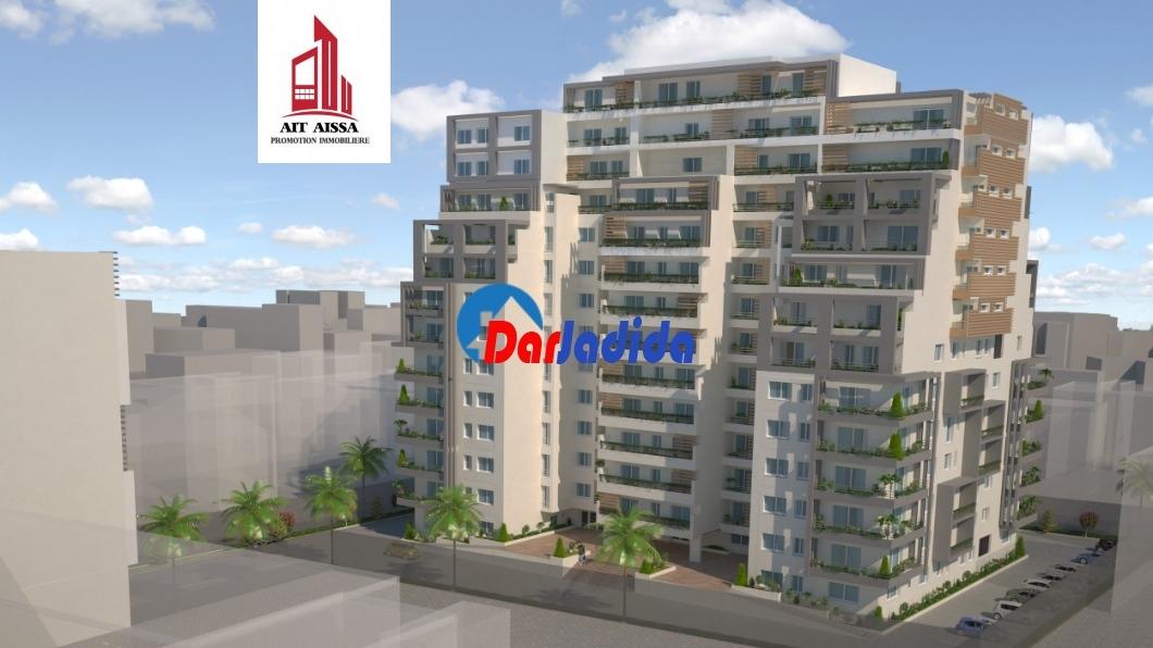 Vente Appartement  Route de Ouled Fayet lot 03, n°112 Chéraga Alger Cheraga Alger